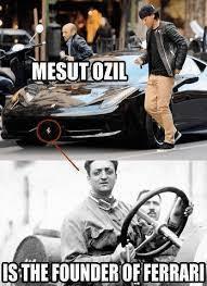 Lookalikes Mesut Ozil Enzo Ferrari