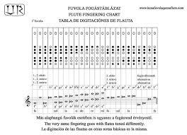7 Hole Flute Finger Chart Kena Quena Quena