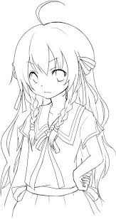 Anime Emo Wolf Girl Coloring Pages сoloring Pages For All Ages