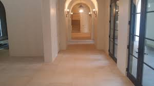 Kitchen With Travertine Floors Oryxpower Travertine Cleaning Restoration Maintenance