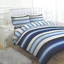 blue striped duvet cover blue and white striped duvet cover uk