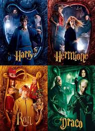 best harry potter and the chamber of secrets images on chamber of secrets character posters harry hermione ron draco