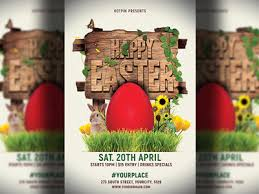 Easter Party Flyer Template By Hotpin On Dribbble