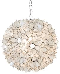 popular of shell pendant light worlds away worlds away capiz shell lotus pendant venus x