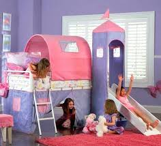 childrens beds with slides. Children Beds With Slides Princess Bunk Bed Slide Childrens Uk . L