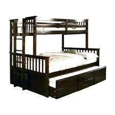 En Bed Frame With Twin Trund Over Bunk Nice Beds Full Queen Trundle ...