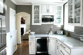 grey butcher block countertops knotty pine kitchen