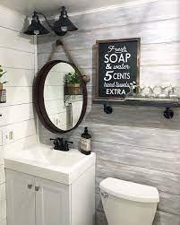 Amazon Com Dason Fresh Soap And Water Sign Wood Bathroom Sign Farmhouse Bathroom Sign Bathroom Wall Decor Bathroom Signs Rustic Bathroom Signs Home Kitchen