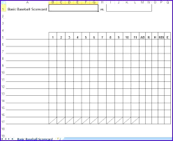 Basketball Score Sheet Excel Blank Basketball Score Sheet ...