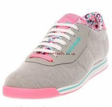 reebok shoes women. canvas flwr/grey/pink zing/solid teal/purple sh - reebok shoes women