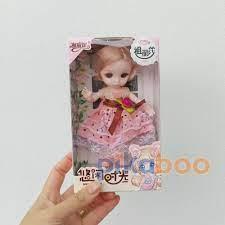 Mã LIFESPIKE19 giảm 10% đơn 99K] Đồ chơi Búp bê mặc váy hoa ren xinh đáng  yêu Pikaboo, 6 màu lựa chọn, an toàn cho bé giá cạnh tranh
