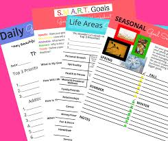 Goal Setting Worksheet What She Say Practical Help For