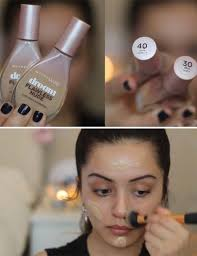 applying your foundation natural makeup look