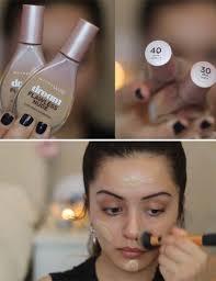 applying your foundation natural makeup look