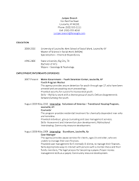 Medical Social Worker Resume Social Work Resume Examples Social Work