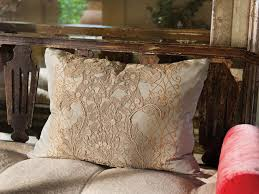 country living room ci allure: dainty pillow with lace applique ci allure of french and italian decor embroidered antique lace pillow xjpgrendhgtvcom