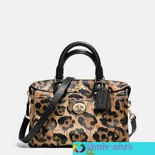 In Leather Rhyder Satchel 24 Wild Beast Prt