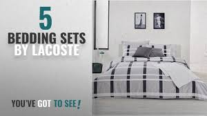 top 10 lacoste bedding sets 2018 lacoste paris comforter set twin twin extra long