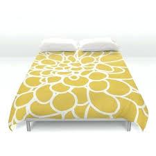 mustard yellow duvet modern dahlia flower duvet cover mustard yellow queen size duvet cover king size