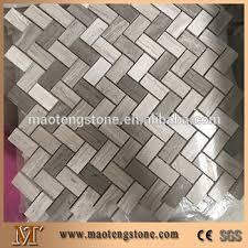 grey travertine tile backsplash. Perfect Backsplash Grey Travertine Herringbone Mosaic Tile Backsplash For Travertine Tile Backsplash