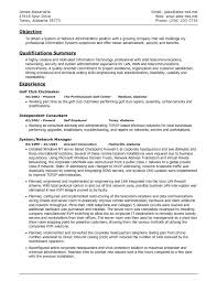 Networking Administrator Cover Letter Network Resume Picture