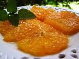 brandied oranges