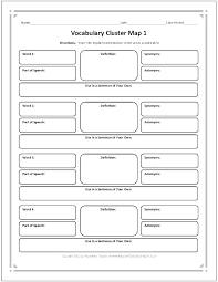 vocabulary words worksheet template vocabulary words worksheets yorkvillecentre