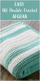 Crochet Patterns Blanket Inspiration All Double Crochet Afghan Crotchet Pinterest Crochet Stitches