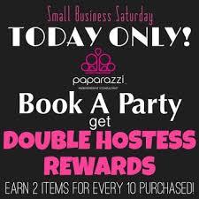small business saay double hostess rewards paparazzi accessories paparazzi by sara ann