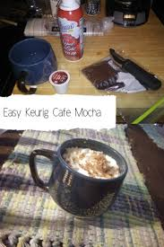 all you need is a mug a keurig cafe escapes cafe mocha k cup