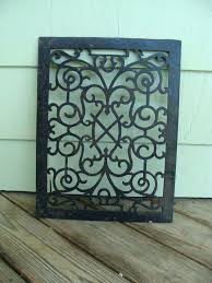 wall heating vent covers vintage cast iron metal floor wall heat heating register grate vent cover wall heating