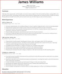 How To Write An Accounting Resume Resume Template