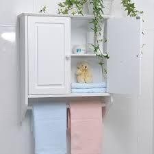 qoo10 bathroom wall cabinet towel