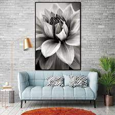 To increase the amount of good vibes in your home, follow these five easy. Black And White Lotus Flower Feng Shui Wall Art Canvas Free Spirit Shop