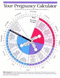 Pregnancy Chart In Months Pregnancy Weekly Calendar By Due Date Lamasa