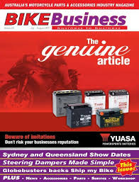 motorcycle parts accessories industry