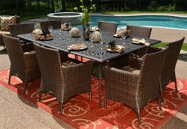 dining room 8 person outdoor dining table ideas e28094 design ideal for room exciting pictures