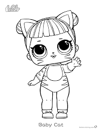 Lol Surprise Doll Coloring Pages At Getdrawingscom Free For