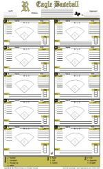 Baseball Hitting Charts Printable Gamegrade Charts