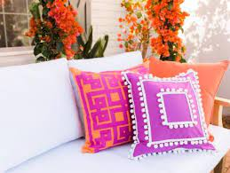 no sew outdoor pillow cover