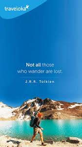 Inspirational Travel Quotes Simple Not All Those Who Wander Are Lost