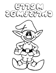 Elf Coloring Pt9f Coloring Pages Christmas Elves Christmas Elf