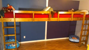 Building A Loft Bed How To Build End To End Floating Loft Bed For Kids Youtube