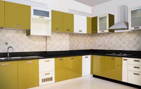Modular Kitchen Furniture Interesting Modular Kitchen Design Ideas With L Shape Cabinets And