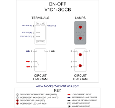 led rocker switch red in illuminated toggle switch wiring diagram