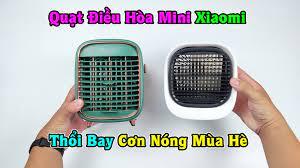 tachaba.com - Mùa Hè Mát Mẻ Với Bộ 2 Quạt Điều Hòa Mini Này Của Xiaomi