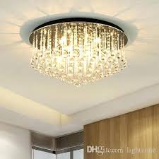 round crystal chandelier chanlier lighting lamp