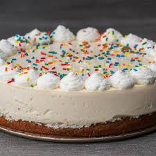 Birthday Box Cake Bottom Cheesecake Recipe By Tasty