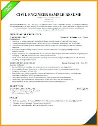 Civil Engineering Technician Resume Magnificent Sample Resume Civil Engineering Technologist Fruityidea Resume