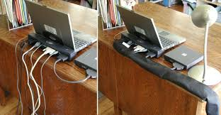 home office cable management. Home Office (2) And Laptop Cable Management I